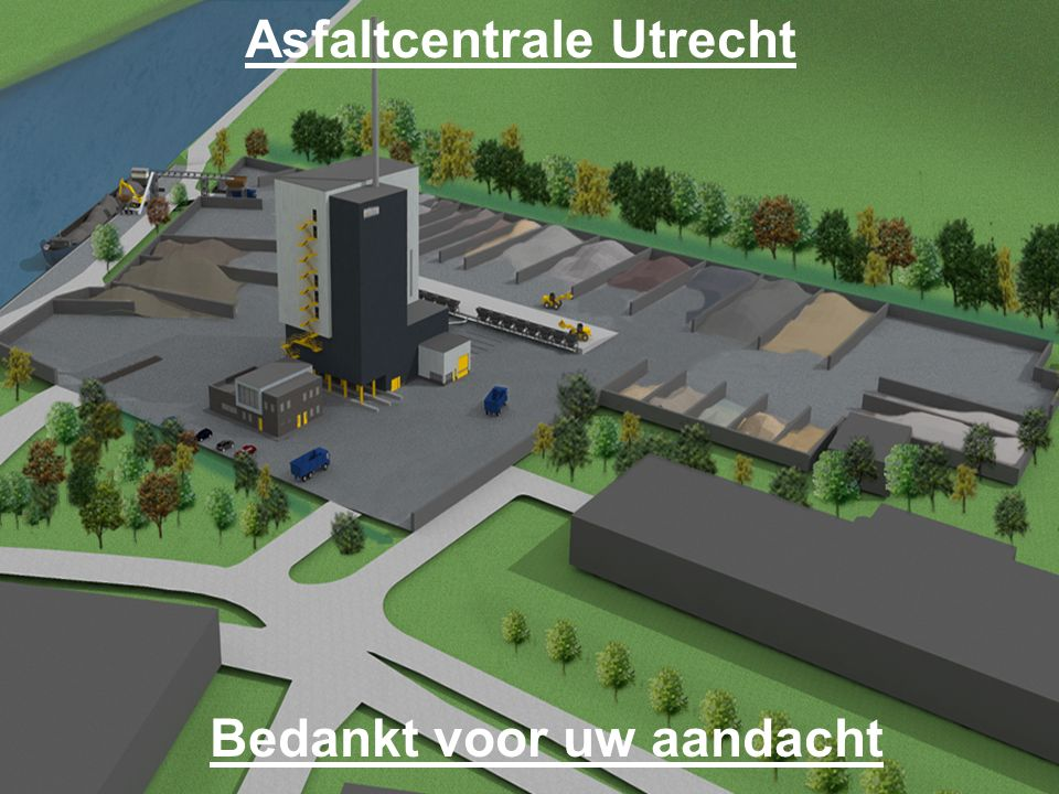 Asfaltcentrale Utrecht Bedankt voor uw aandacht