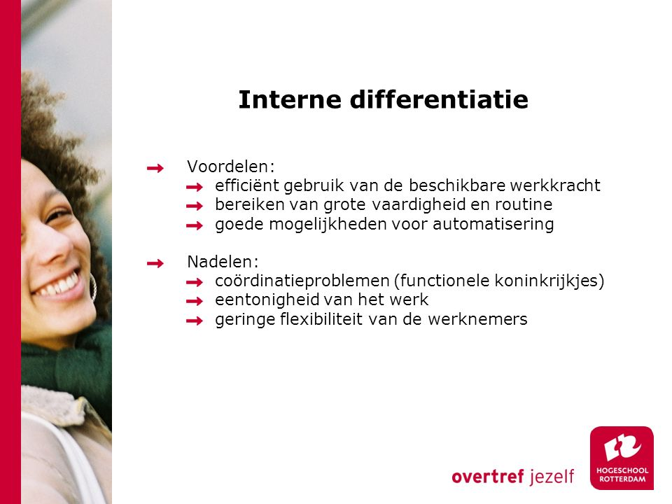 Interne differentiatie
