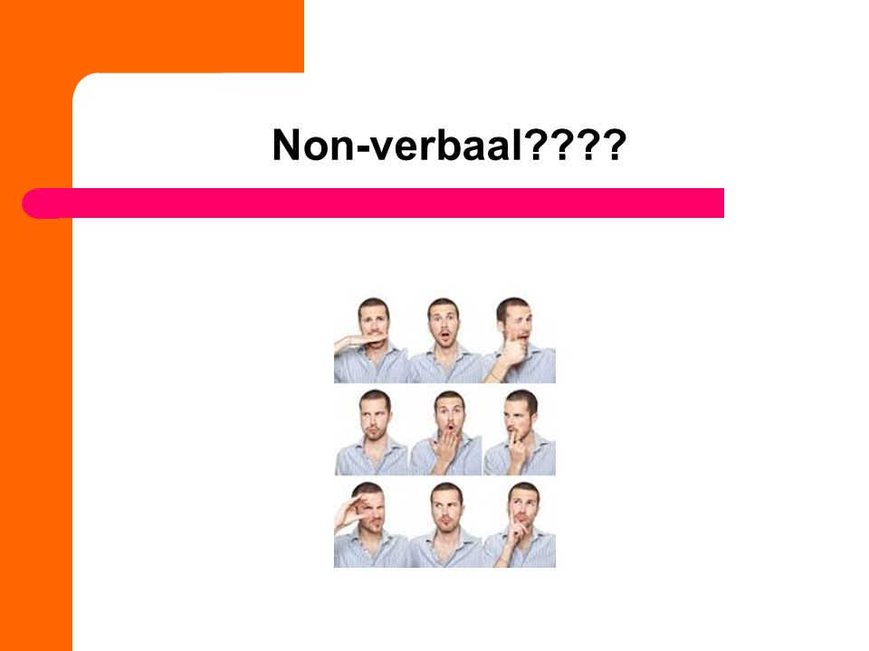 Non-verbaal