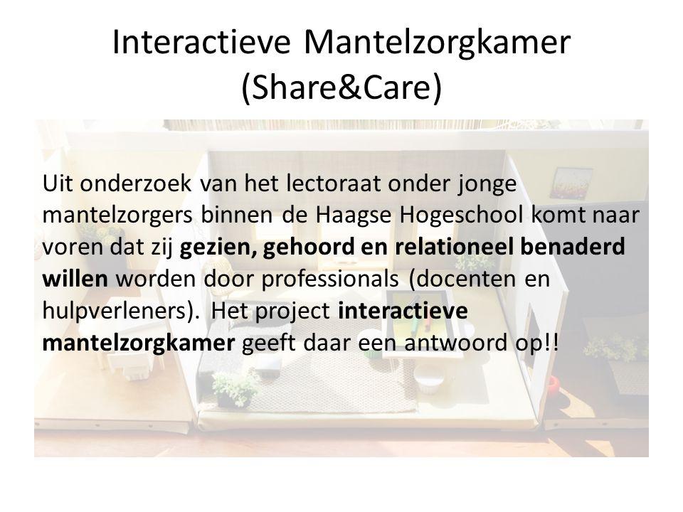Interactieve Mantelzorgkamer (Share&Care)