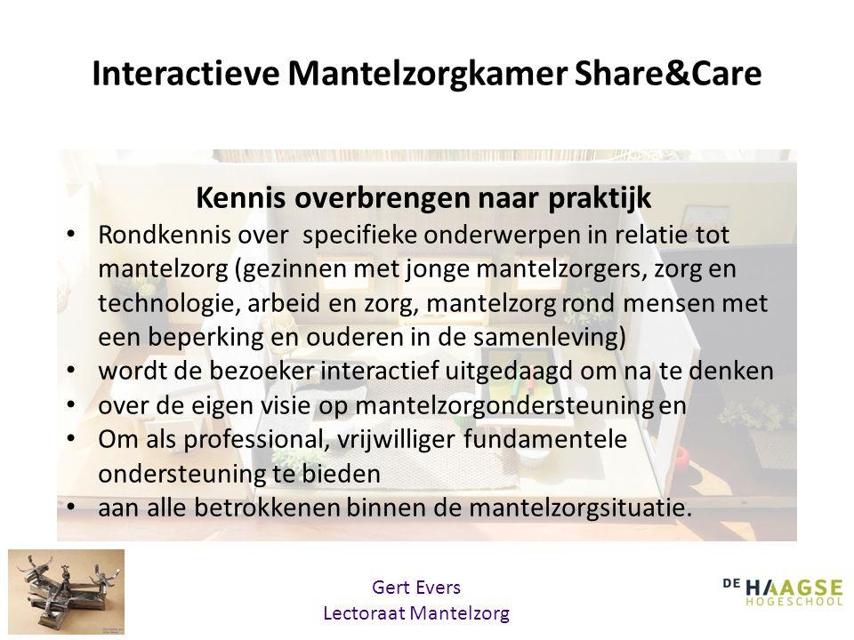 Interactieve Mantelzorgkamer Share&Care