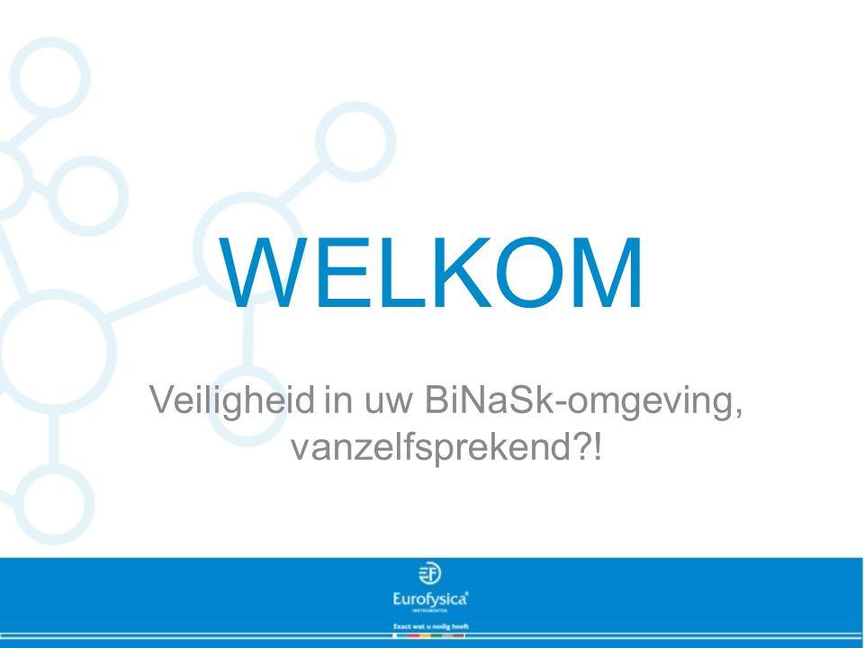 Veiligheid in uw BiNaSk-omgeving, vanzelfsprekend !