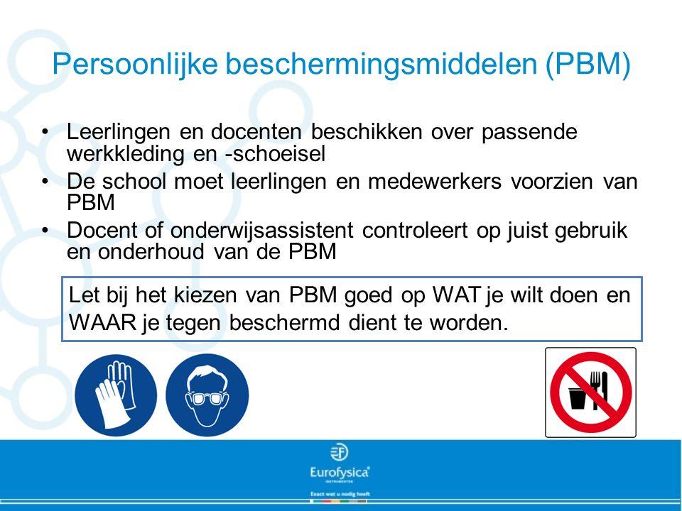 Persoonlijke beschermingsmiddelen (PBM)