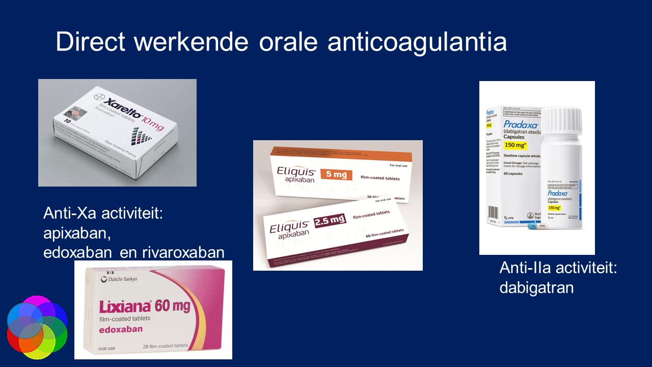 Direct werkende orale anticoagulantia