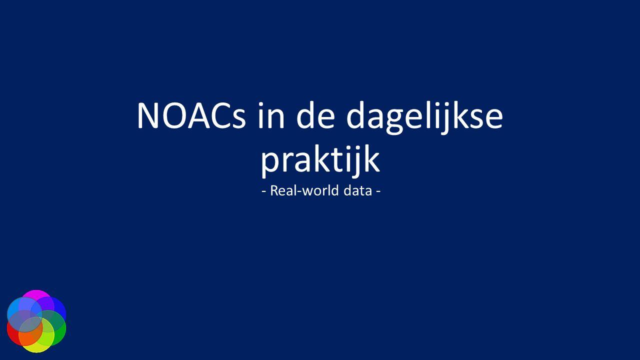 NOACs in de dagelijkse praktijk