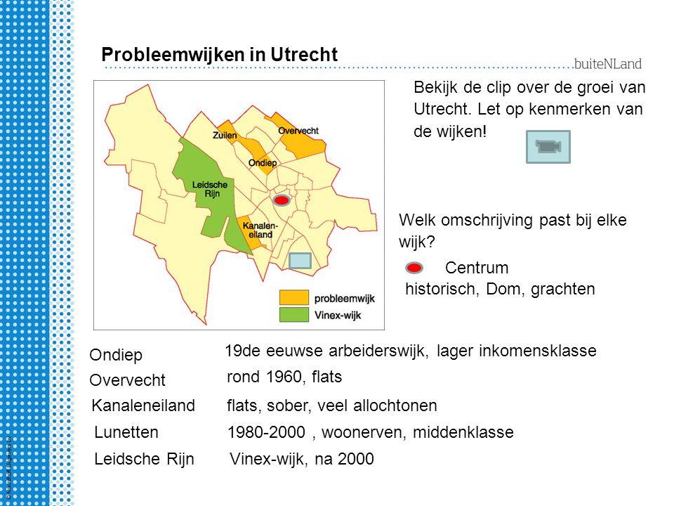 Probleemwijken in Utrecht