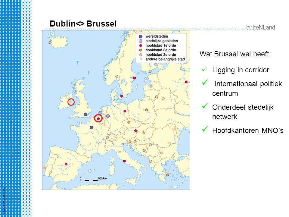 Dublin<> Brussel