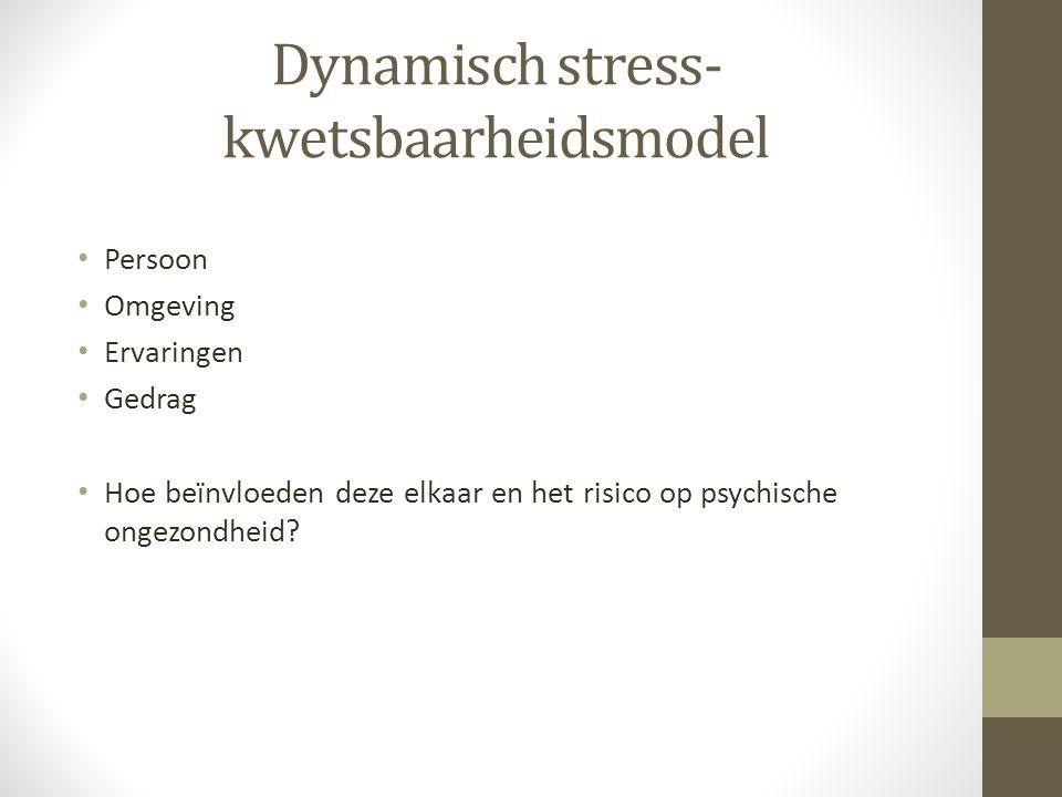Dynamisch stress-kwetsbaarheidsmodel