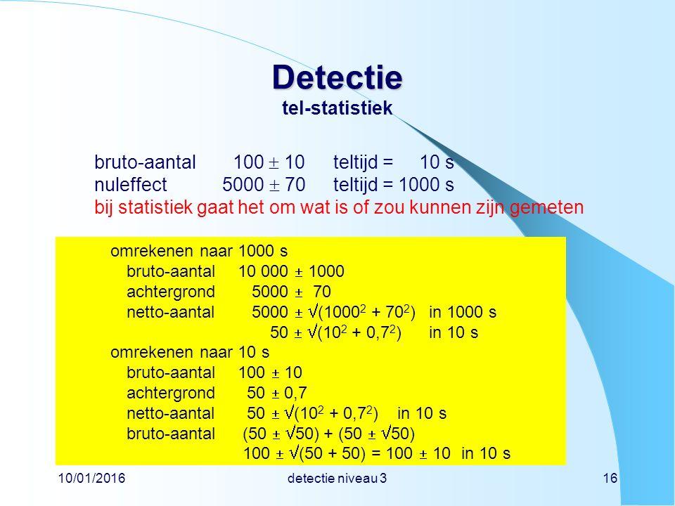 Detectie tel-statistiek