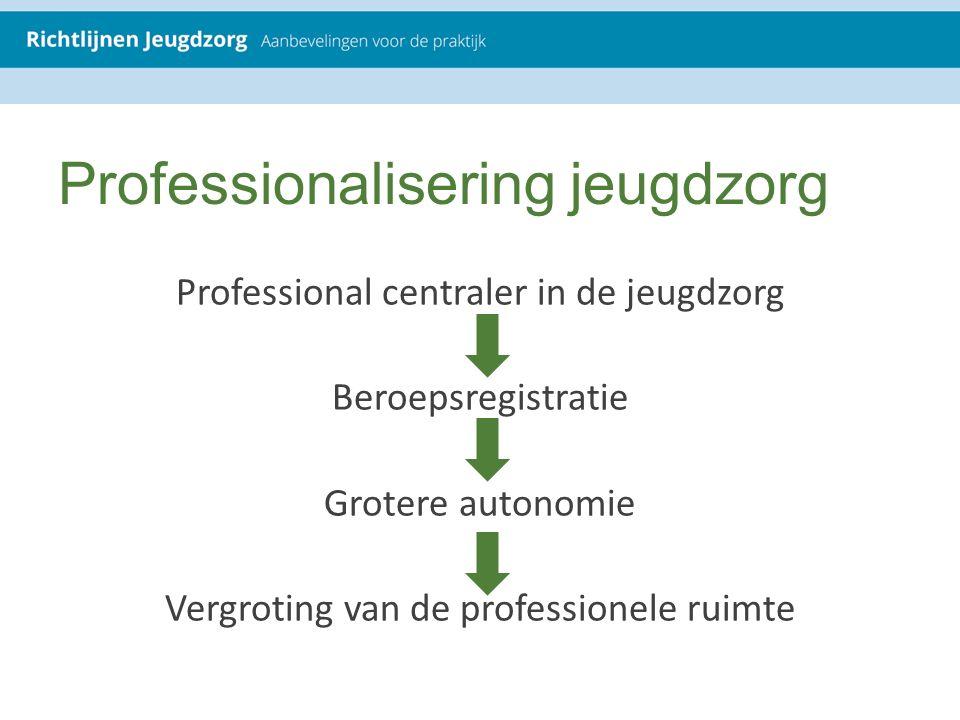 Professionalisering jeugdzorg