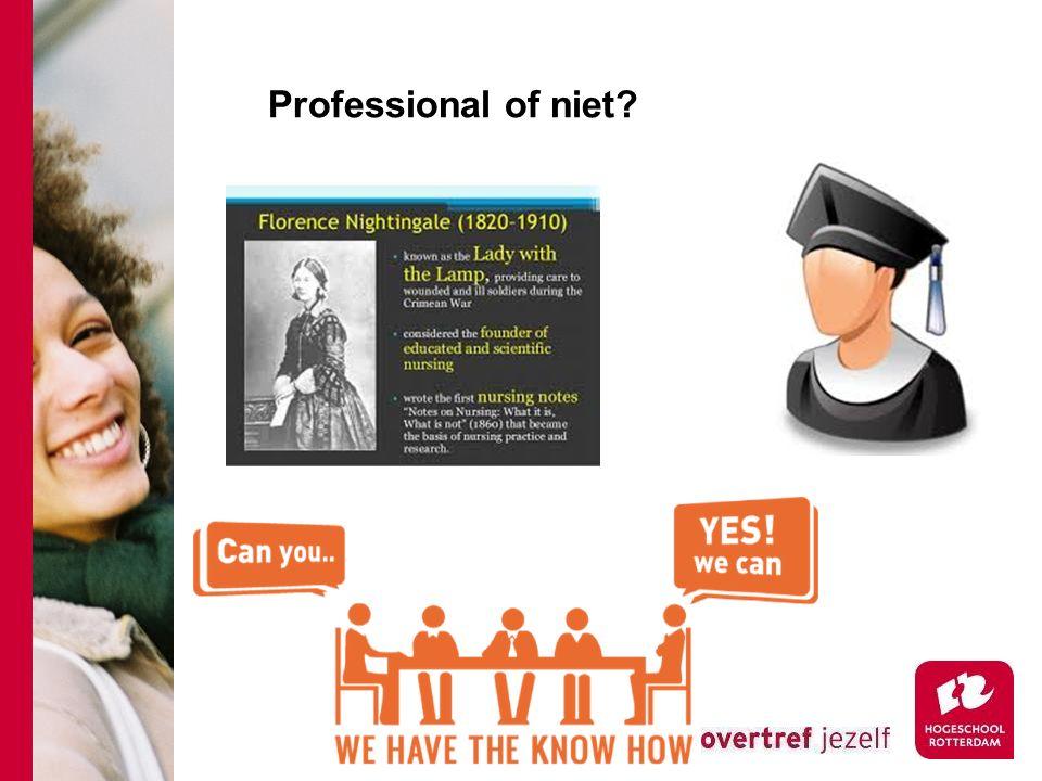 Professional of niet Nelleke Rietveld