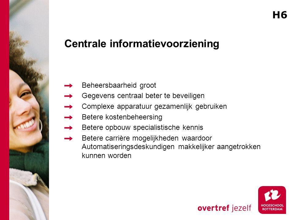 Centrale informatievoorziening