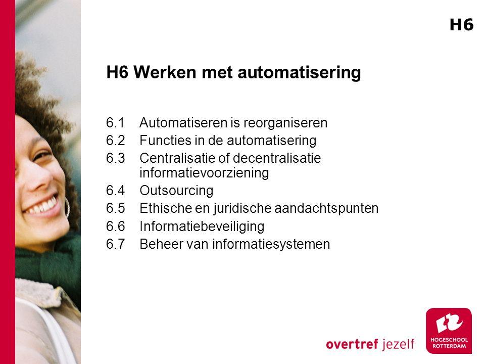 H6 Werken met automatisering