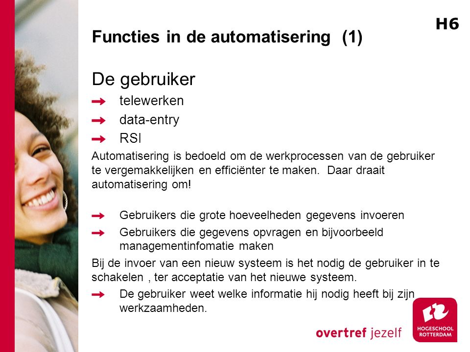 Functies in de automatisering (1)
