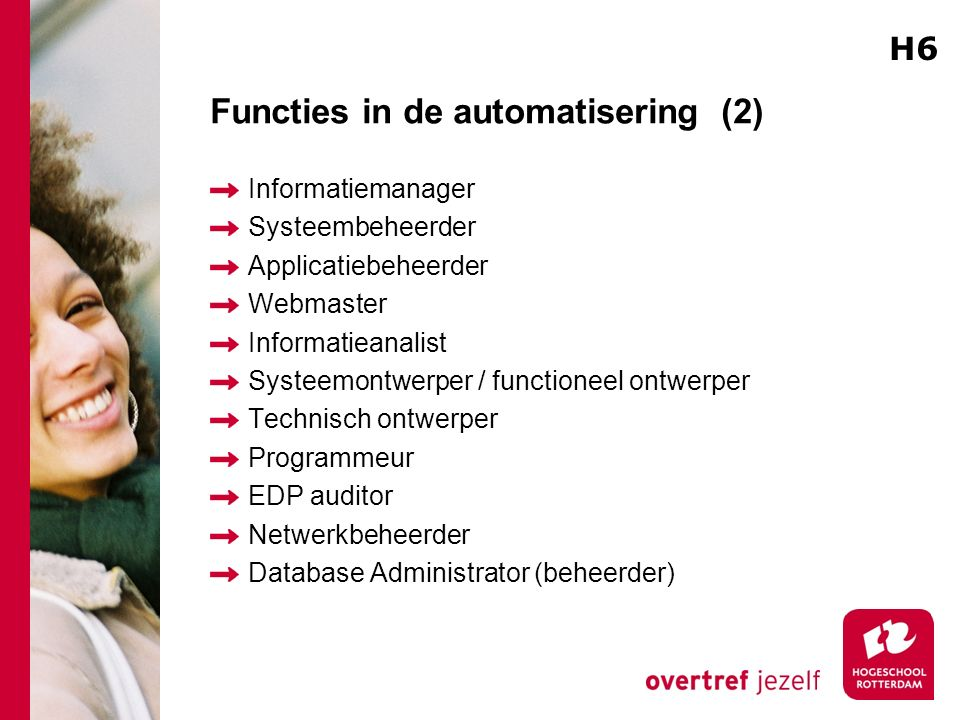 Functies in de automatisering (2)