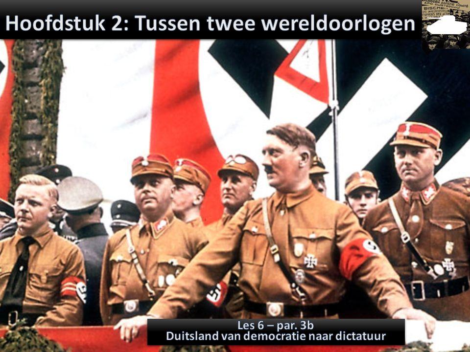 Hoofdstuk 2: Tussen twee wereldoorlogen