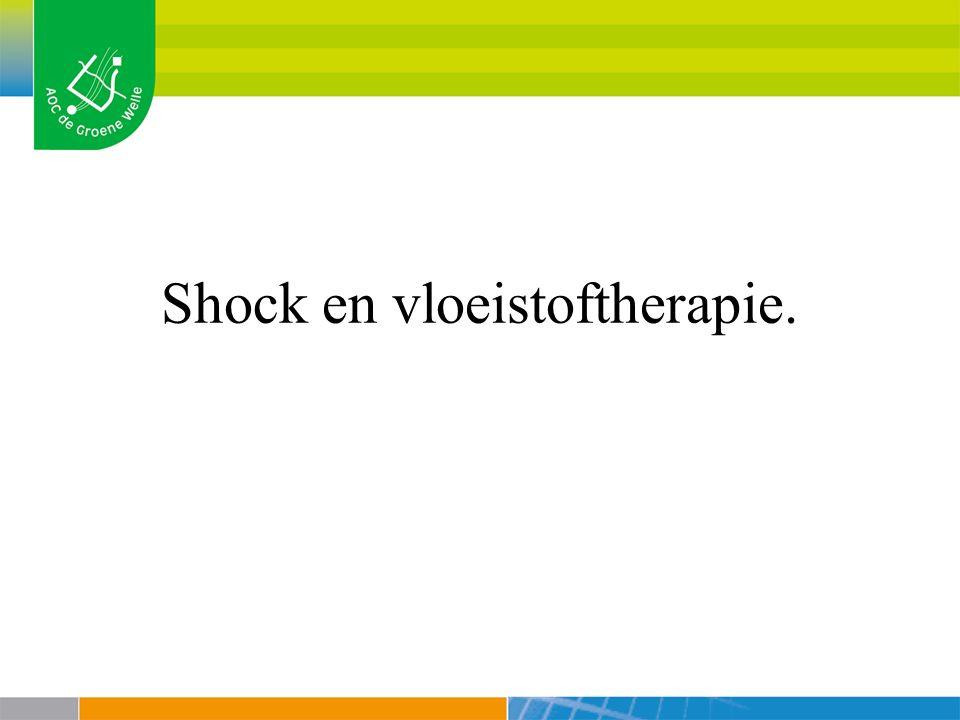 Shock en vloeistoftherapie.
