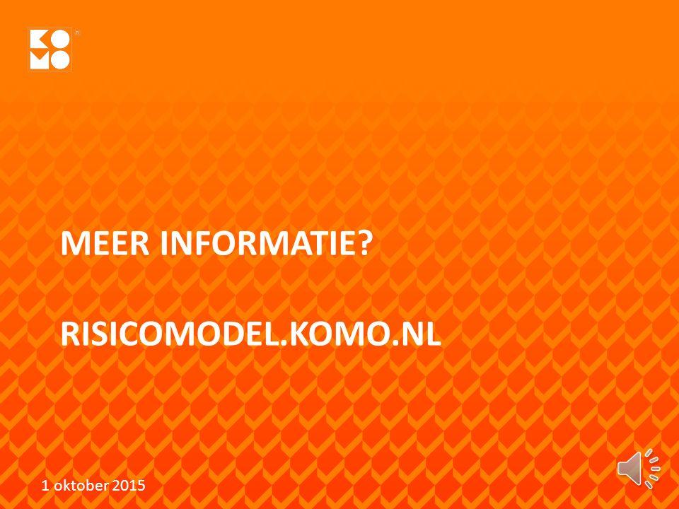 MEER INFORMATIE RISICOMODEL.KOMO.NL