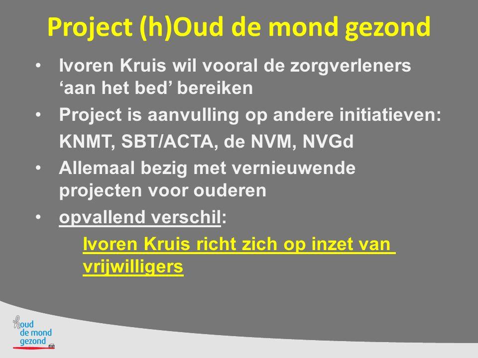 Project (h)Oud de mond gezond