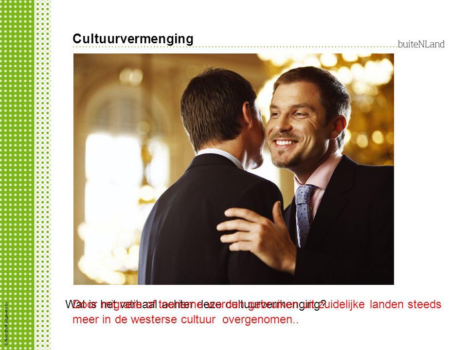 Cultuurvermenging Wat is het verhaal achter deze cultuurvermenging
