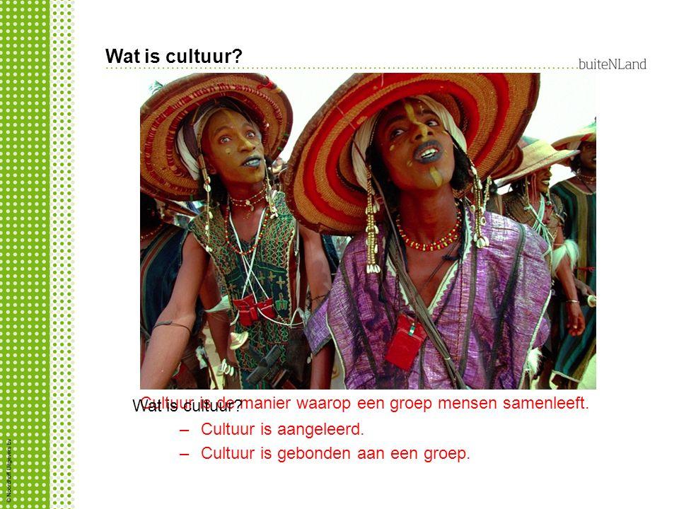 Zelfde foto als dia 1 Wat is cultuur