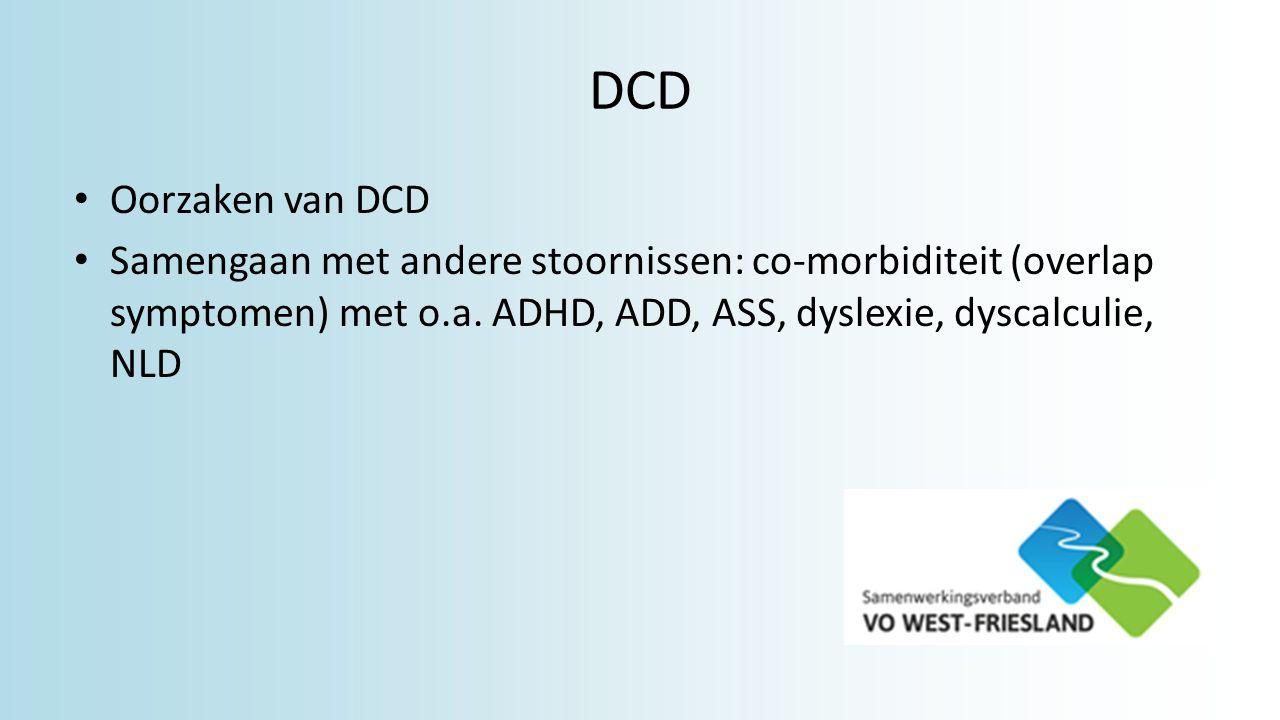 DCD Oorzaken van DCD.
