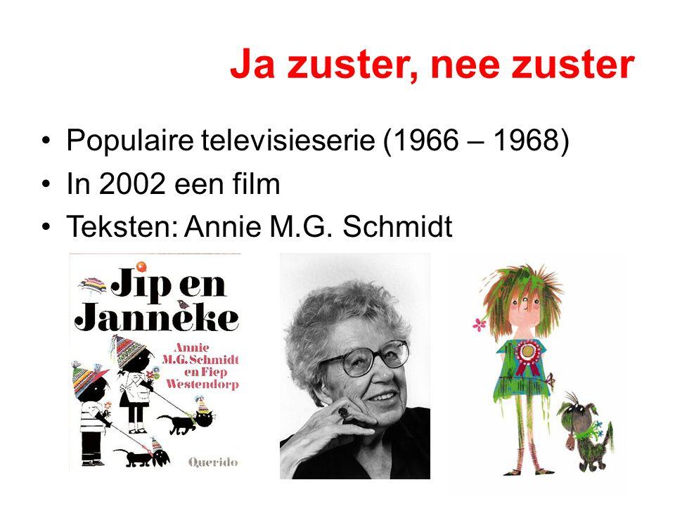 Ja zuster, nee zuster Populaire televisieserie (1966 – 1968)