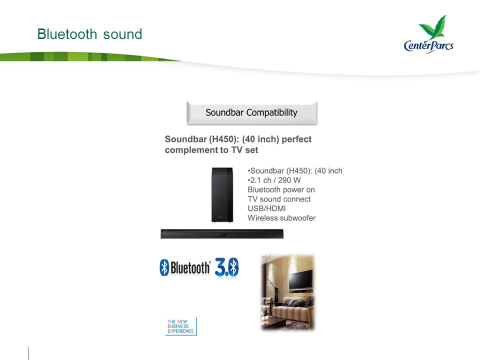 Bluetooth sound