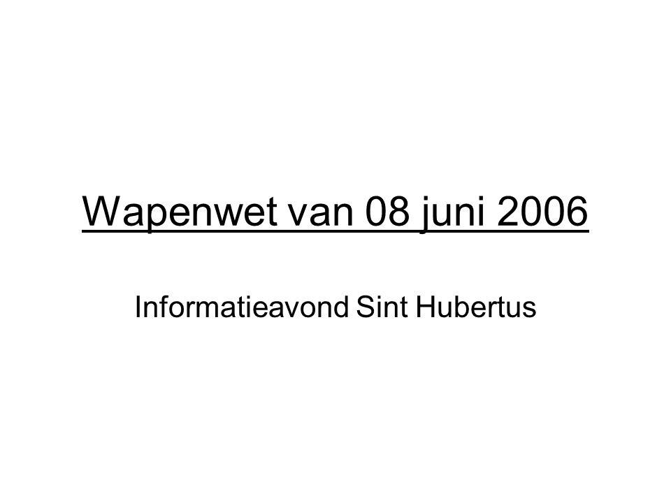Informatieavond Sint Hubertus