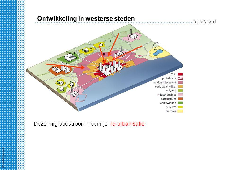 Ontwikkeling in westerse steden