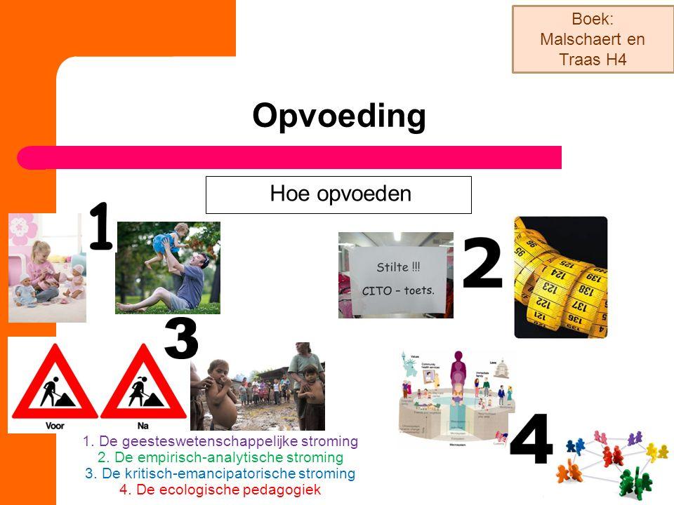 Opvoeding Boek: Malschaert en Traas H4 Hoe opvoeden