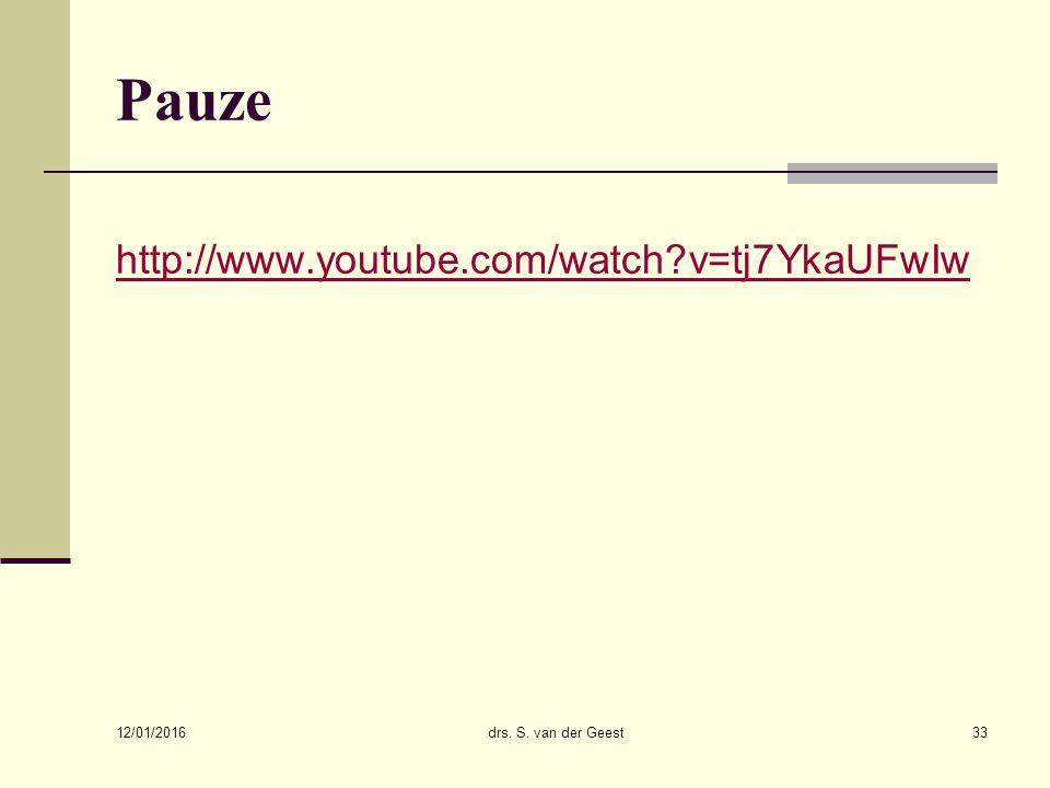Pauze http://www.youtube.com/watch v=tj7YkaUFwIw 26/04/2017