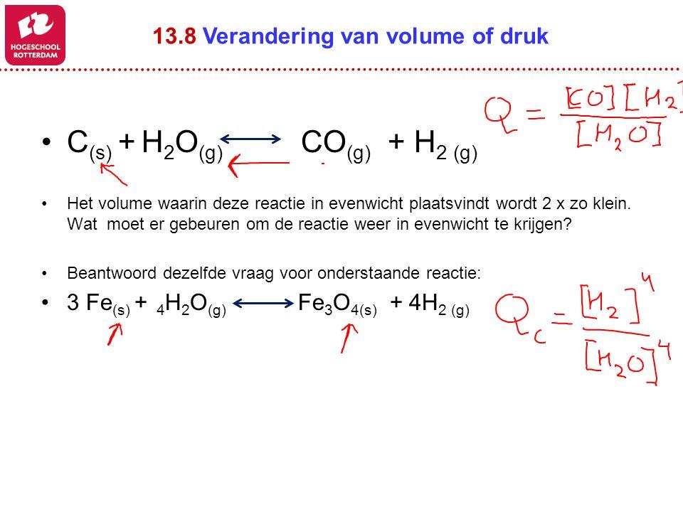 C(s) + H2O(g) CO(g) + H2 (g)