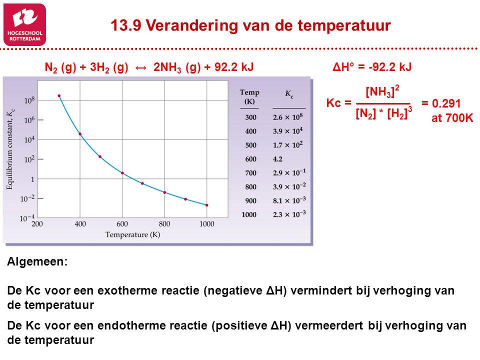 13.9 Verandering van de temperatuur
