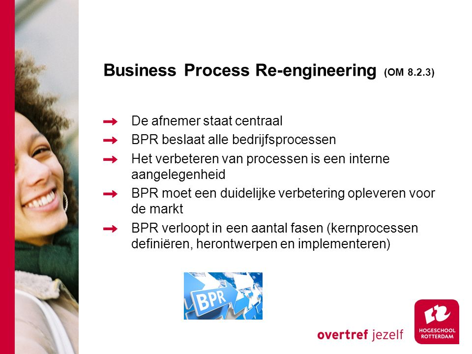 Business Process Re-engineering (OM 8.2.3)