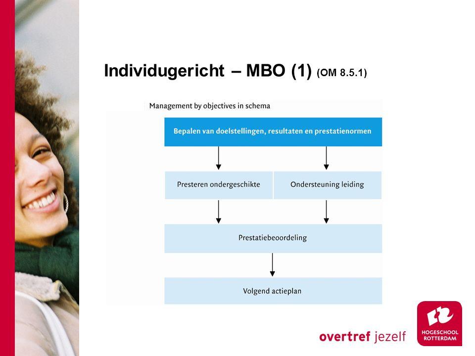 Individugericht – MBO (1) (OM 8.5.1)