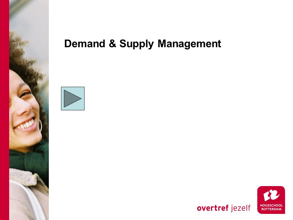 Demand & Supply Management