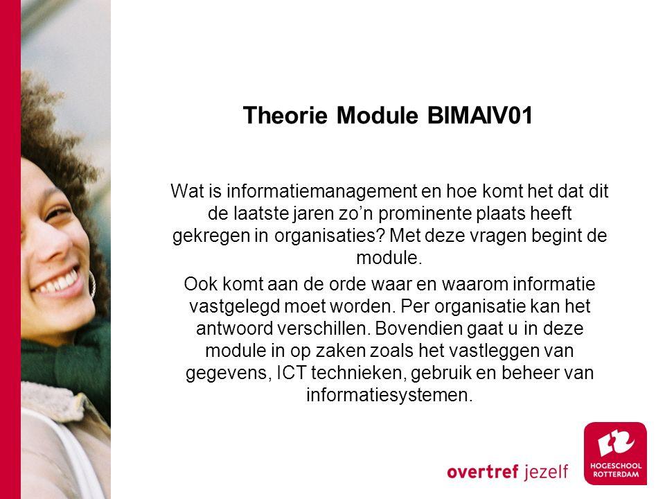 Theorie Module BIMAIV01