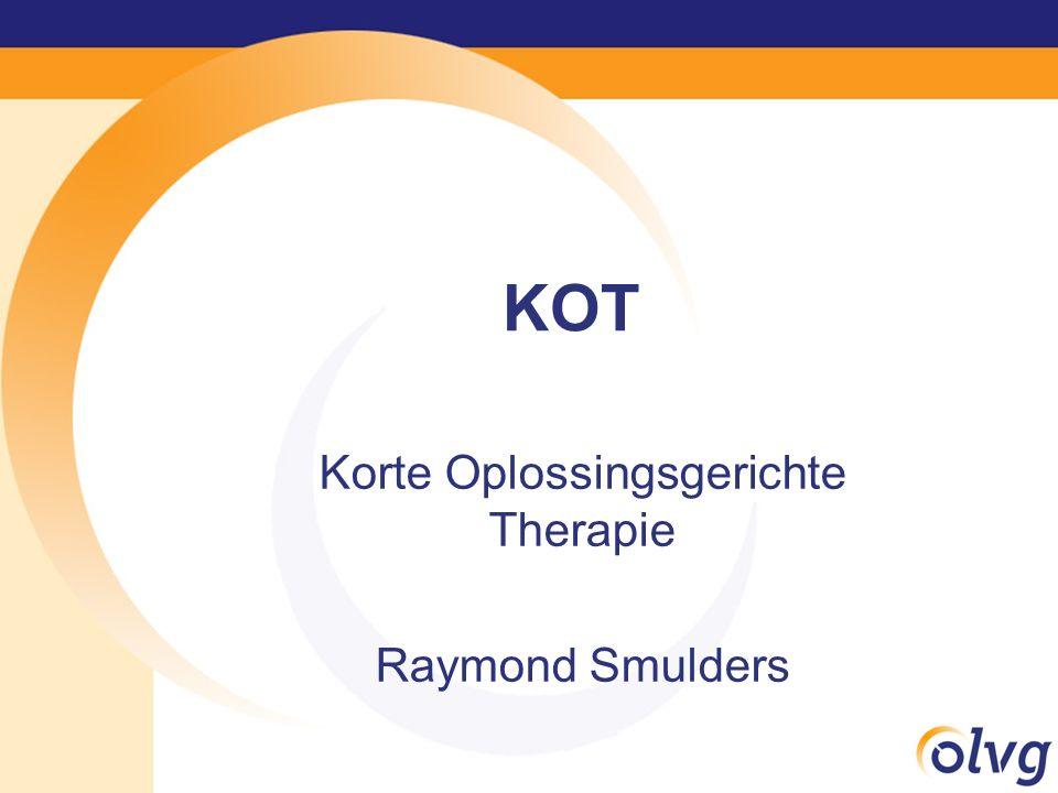 Korte Oplossingsgerichte Therapie Raymond Smulders