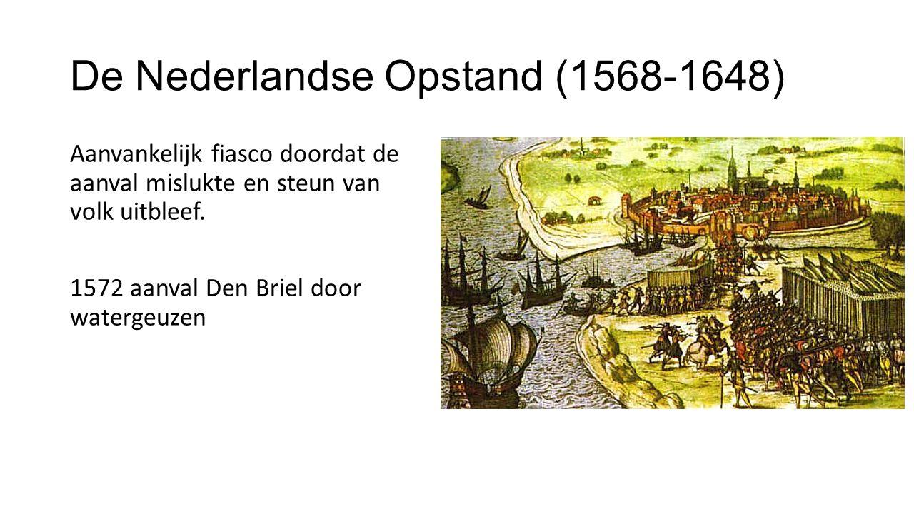 De Nederlandse Opstand (1568-1648)