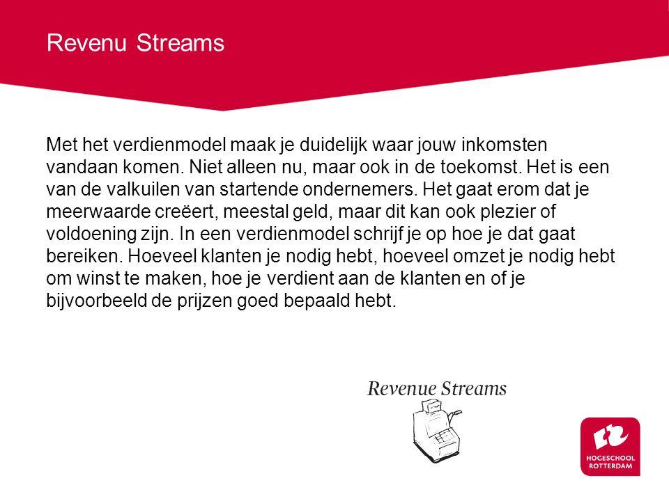 Revenu Streams