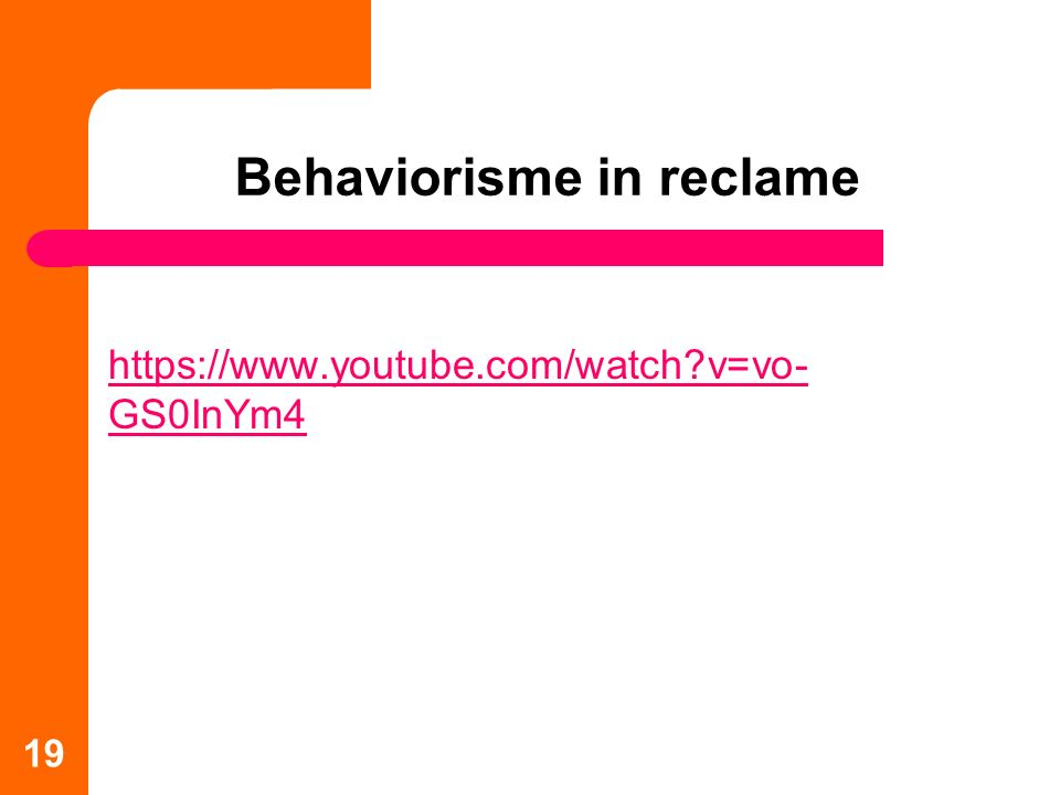 Behaviorisme in reclame