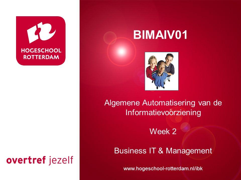 Presentatie titel BIMAIV01