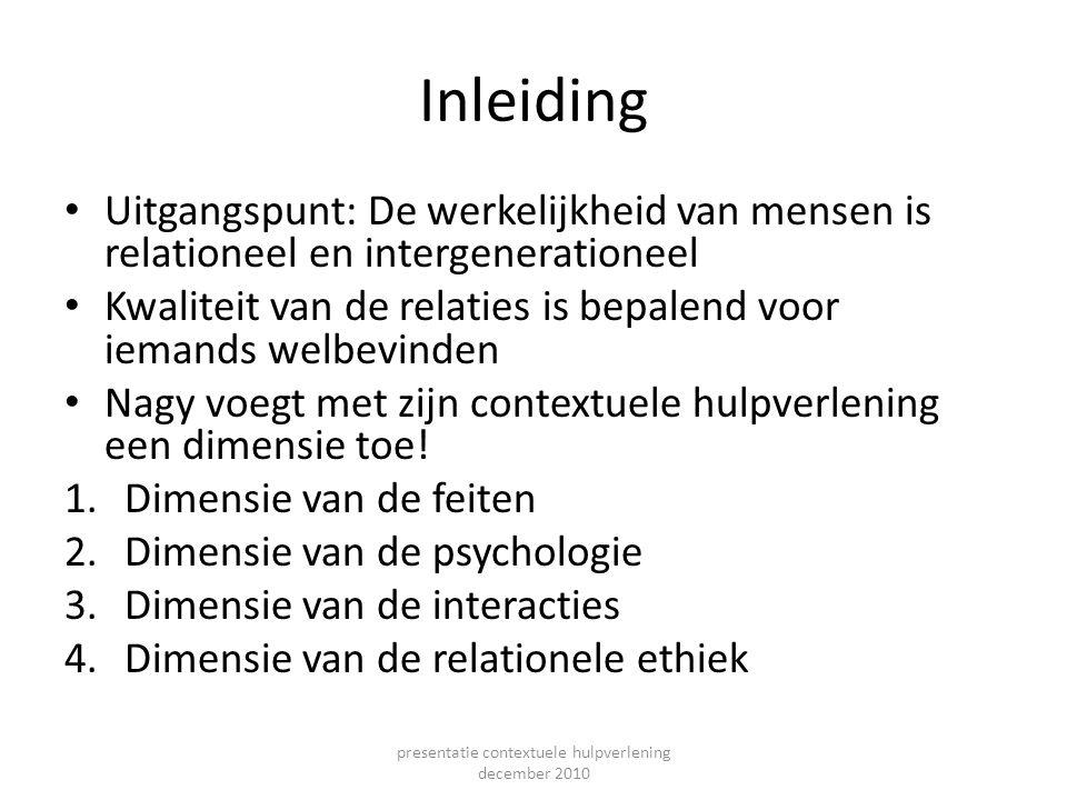presentatie contextuele hulpverlening december 2010