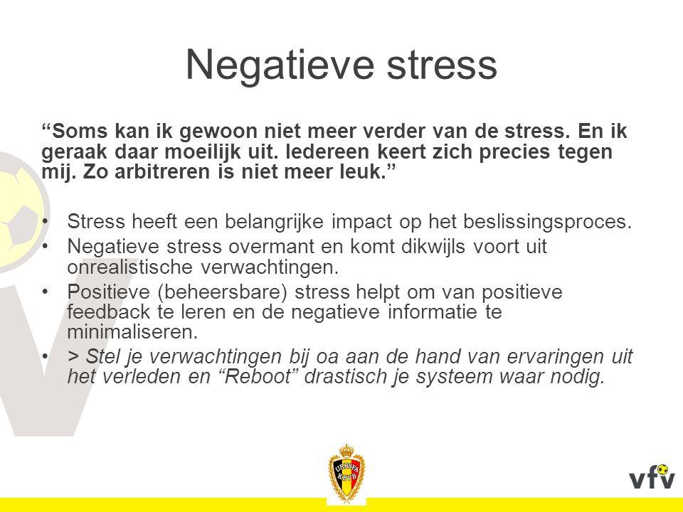 Negatieve stress