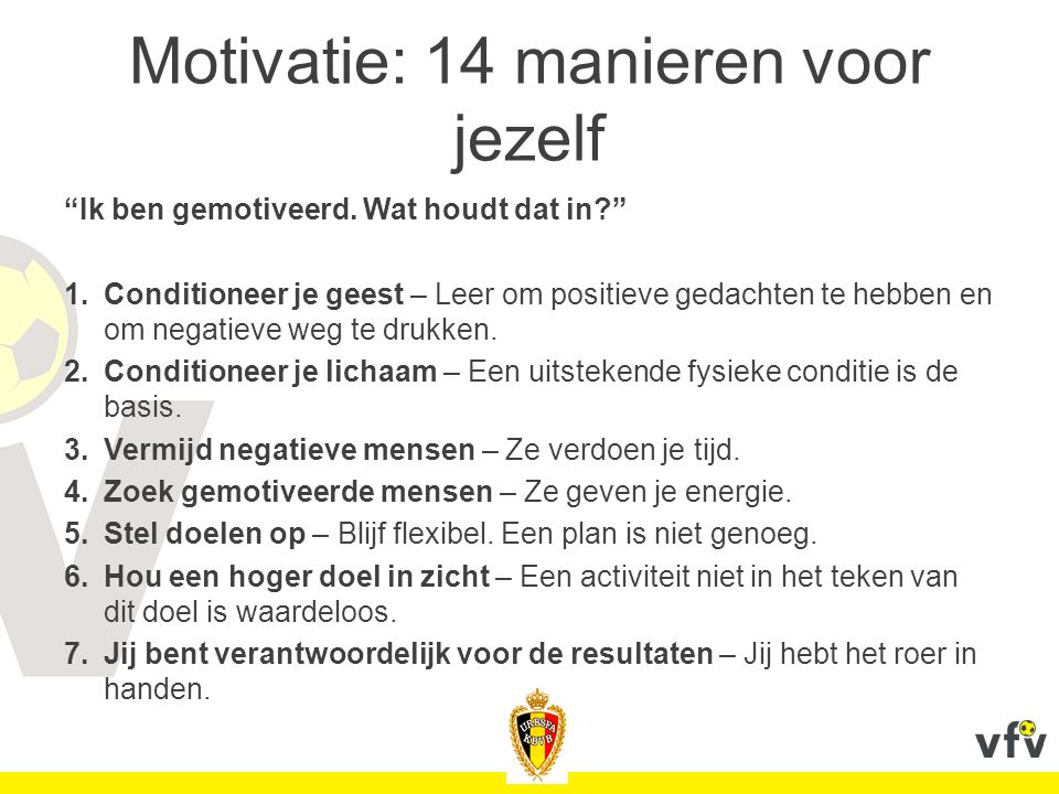 Motivatie: 14 manieren voor jezelf
