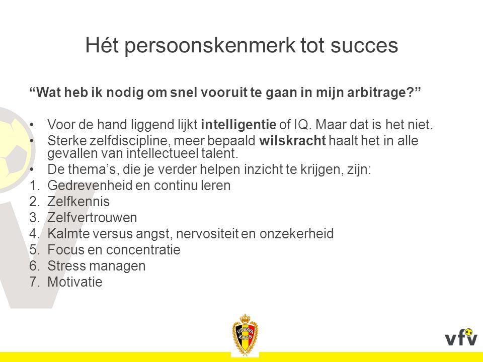 Hét persoonskenmerk tot succes