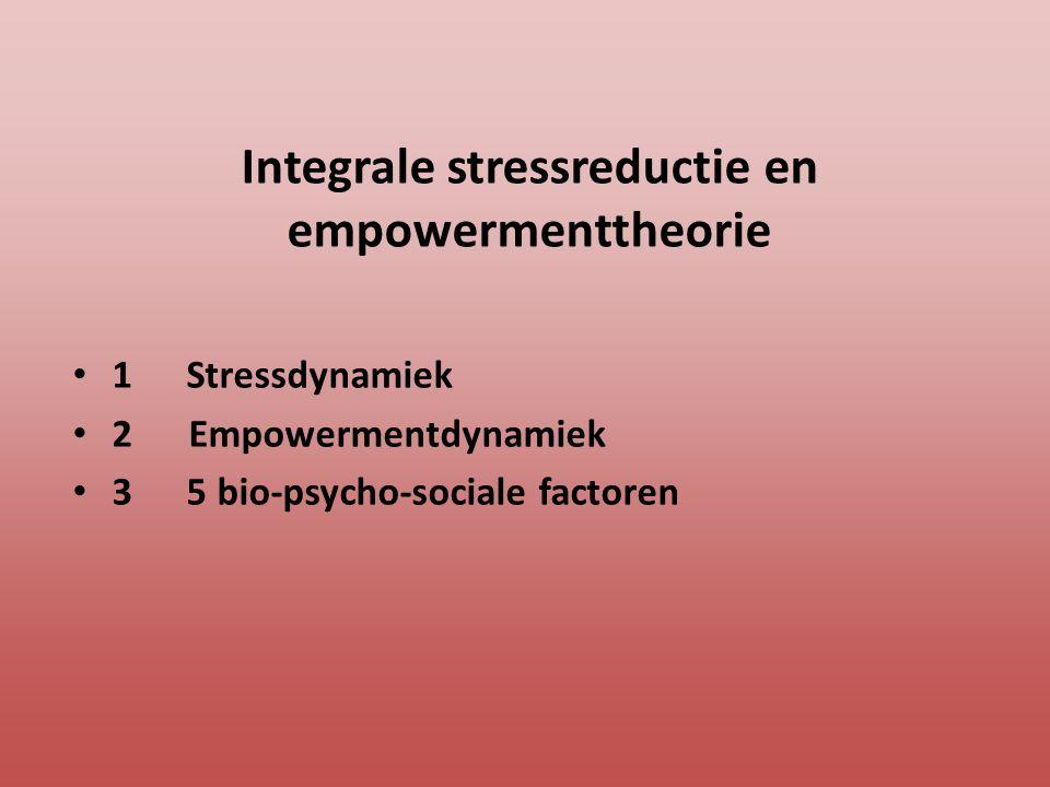 Integrale stressreductie en empowermenttheorie
