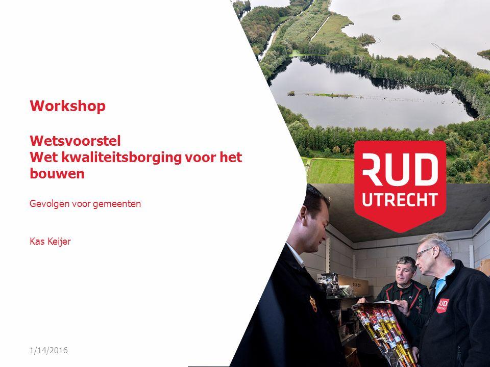 Workshop Wetsvoorstel Wet kwaliteitsborging voor het bouwen