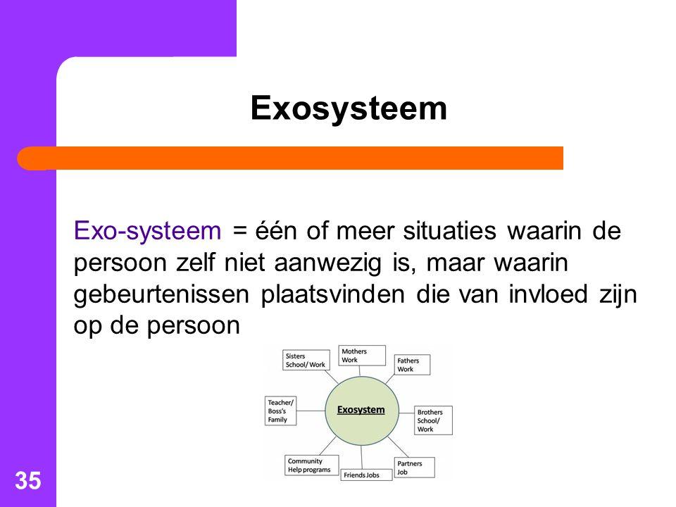 Exosysteem